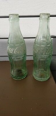 Vintage Embossed COCA COLA GLASS BOTTLE CHOOSE YOUR CITY MANY AVAILABLE