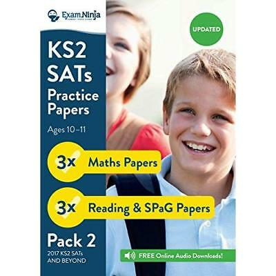 2017 KS2 SATs Practice Papers - Pack 2 (English Reading, SPaG & Maths) Inc. Full