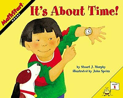 It's About Time! (MathStart 1) by Murphy, Stuart J. Book The Cheap Fast Free