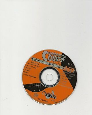 Karaoke Chartbuster Cd+G Country Hot Hits Cb20269  Disc # 269
