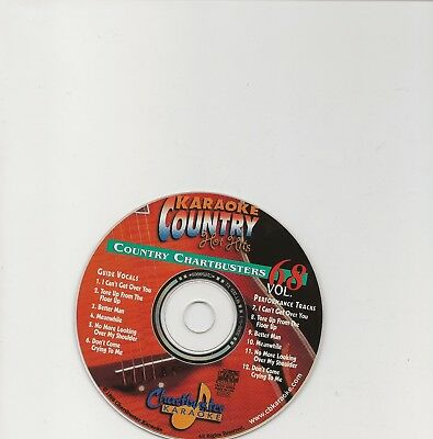 Karaoke Chartbuster Cd+G Country Hot Hits Cb20068  Disc # 68