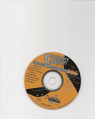 Karaoke Chartbuster Cd+G Country Hot Hits Cb20186  Disc # 186