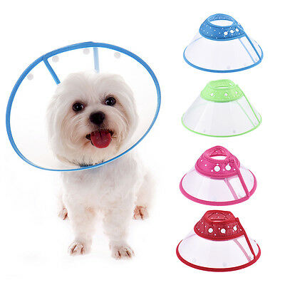 Small Pet Dog Cat Wound Healing Cone Protecte Smart Collar Care Elizabethan