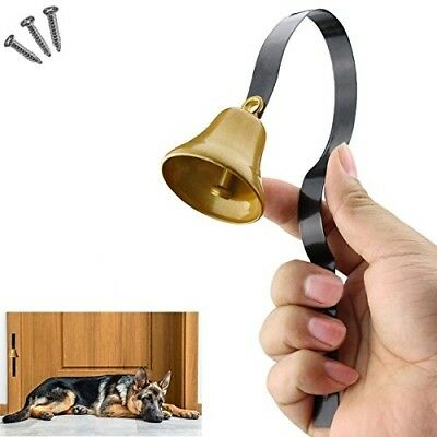 Tinkle Dog Bell Pet Door Bell Hanging Brass Doorbell For Potty Training Genuine