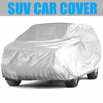 L Full Car Cover Waterproof Sun UV Snow Dust Rain Resistant Protection For SUV