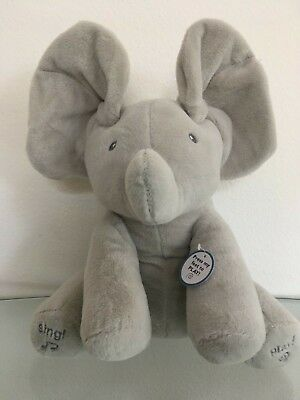 Animated Baby Peek a Boo Talking and Singing Elephant Plush Toy Soft for Kids