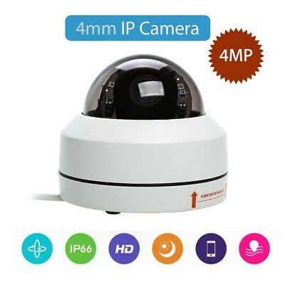 4MP 1080P IP Smart Dome Camera Infrared PTZ Network 4mm Security CCTV Waterproof