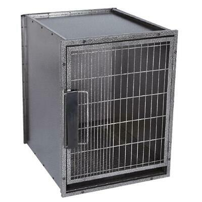 Pet Pals ZW5202 30 17 ProSelect Modular Kennel Cage Med Graphite