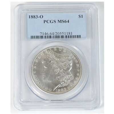 1883-O PCGS Graded MS64 Morgan Silver Dollar $1 Mint State New Orleans
