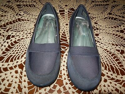 a0e3f67f530 SKECHERS Career 9 to 5 Relaxed Fit Womens Navy Suede Leather Loafer 7M  48988  65