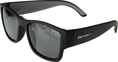 2e33ae2ba9 Bomber Floating GOMER Sunglasses Matte Black w  Smoked Polarized Lens Mens  GM111
