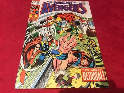 Marvel Comic The Mighty Avengers #66 - 1969 - Silver Age -