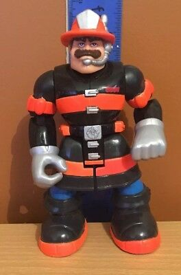 Rescue Heroes Billy Blazes 2002 Mattel Fisher Price Action Figure Toy Hero 15cm