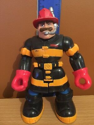 Rescue Heroes Billy Blazes 1997 Mattel Fisher Price Action Figure Toy Hero 15cm