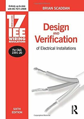 17th Edition IEE Wiring Regulations: Design... by Scaddan IEng; MIIE ( Paperback