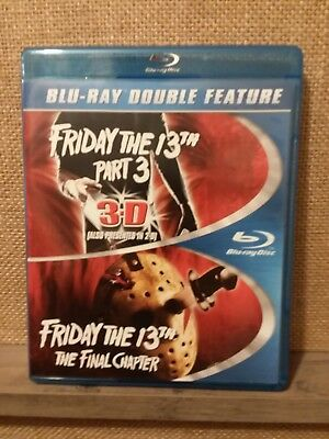 Friday the 13th part III/ Friday the 13th the final chapter/Blu Ray double fea..