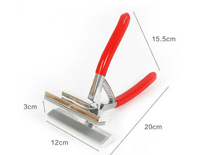 12cm Oil Painting Pliers ,Red Handle Clamp Cloth Stretched Canvas Stretch Fabric