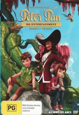 The New Adventures of Peter Pan: Season 1 - Volume 1 = NEW DVD R4