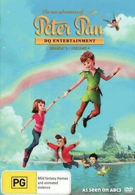 The New Adventures of Peter Pan: Season 1 - Volume 4 = NEW DVD R4