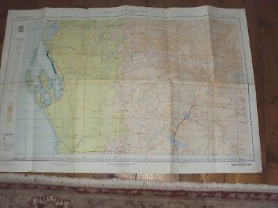 Meekatharra - Australian Geographical Fold Out Map  - 1964
