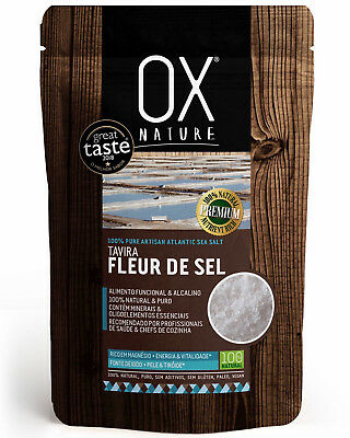 Fleur de Sel 100% Pure Artisan Tavira 150g Premium Atlantic Sea Salt Great taste