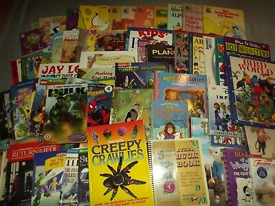 Children's Books Pick 15 For $15.99 Variety Mixed Lot Ages Baby To Young Adults