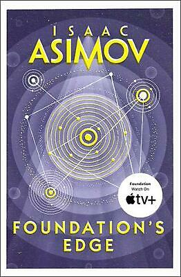 Foundation's Edge by Isaac Asimov Paperback Book Free Shipping!