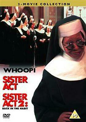 Sister Act/Sister Act 2 - Back in the Habit - DVD Region 2 Free Shipping!