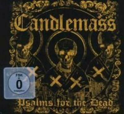 PSALMS FOR THE DEAD (CD + DVD) - Candlemass Compact Disc Free Shipping!