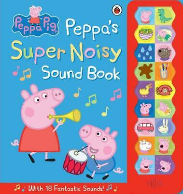 Peppa Pig: Peppa's Super Noisy Sound Book by Ladybird Hardcover Book Free Shippi