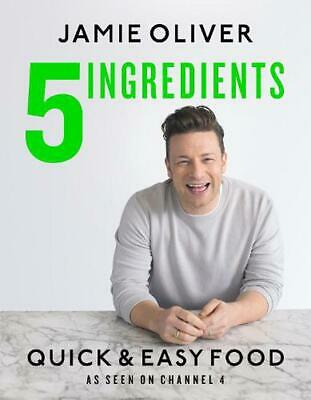 5 Ingredients - Quick & Easy Food: The UK edition by Jamie Oliver (English) Hard