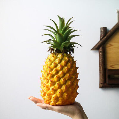 Artificial Plastic Pineapple Fake Fruit Cabinet Display Home Party Decor