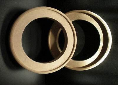 2x MDF Ring Ringe Holzringe Distanzringe für Doorboards / Boards / Soundboards
