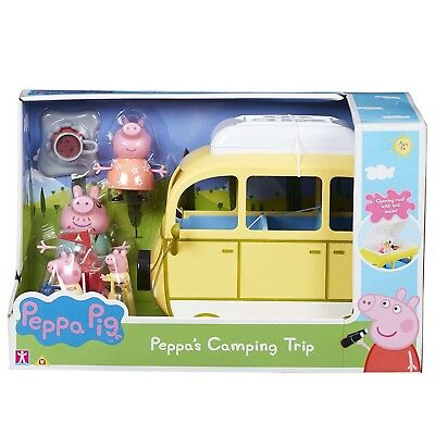 NEW Peppa Pig Peppa's Camping Trip By Character