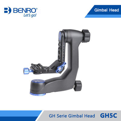 Benro GH5C Carbon Fiber Gimbal Head with PL100 Plate Bird watching PTZ