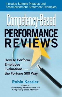 Competency-Based Performance Reviews: How to Perfo... by Robin Kessler Paperback