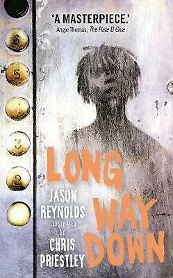 Long Way Down by Jason Reynolds Hardcover Book Free Shipping!