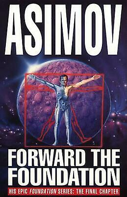 Forward The Foundation! by Isaac Asimov Paperback Book Free Shipping!