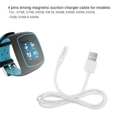 Magnetic Charger Charging Cable 4Pin Distance For Smart Watch with Magnetic Plug
