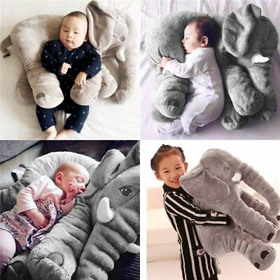 Fashion Elephant Plush Lumbar Pillow Soft For Children Baby Kids Toy Animals GA