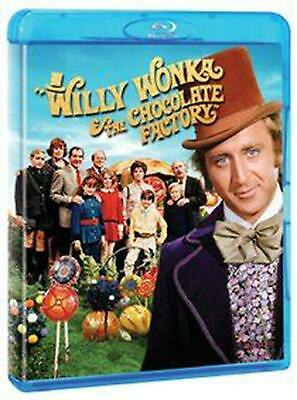 Willy Wonka and the Chocolate Factory - Blu-ray Region A Free Shipping!