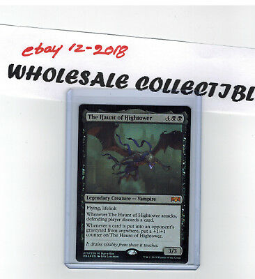 The Haunt of Hightower MTG Ravnica Allegiance FOIL MYTHIC Buy-A-Box Promo Card