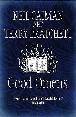 Good Omens by Neil Gaiman Hardcover Book Free Shipping!