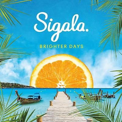 SIGALA BRIGHTER DAYS CD (Released September 28th 2018)