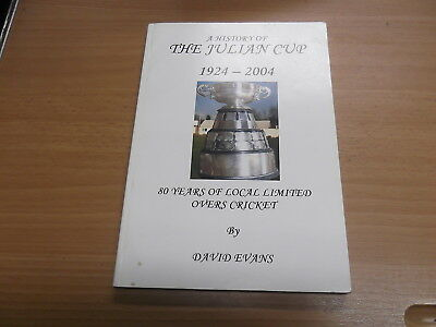 A History of The Julian Cup 1924-2004 by David Evans