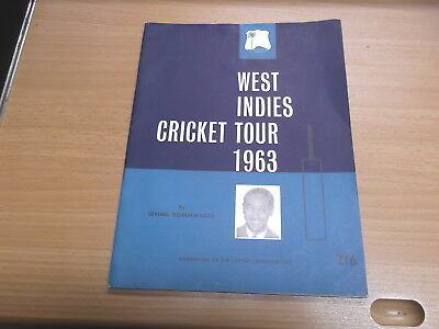 West Indies Cricket Tour 1963 by Irving Rosenwater