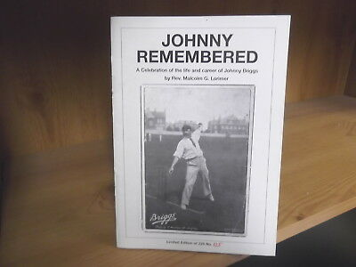 Johnny Remembered by Malcolm Lorimer - Limited edition of 225 copies