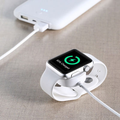 Magnetic Charging Charger Pad USB Cable For Apple Watch iWatch Series 2/3/4 UK