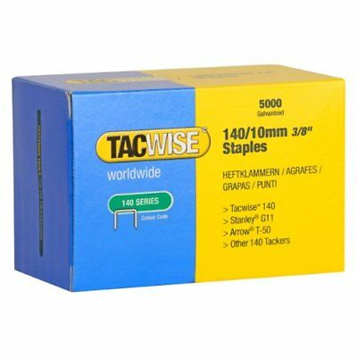 Tacwise 140 Series 10mm Heavy Duty Staples (5000 Pieces)