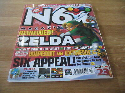 N64 Nintendo official Magazine # 23 issue 23 Christmas 1998